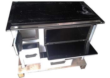 Kitchen Firewood Cooking Stoves & Oven from Italy, Wood Machinery Ltd, Kampala Uganda
