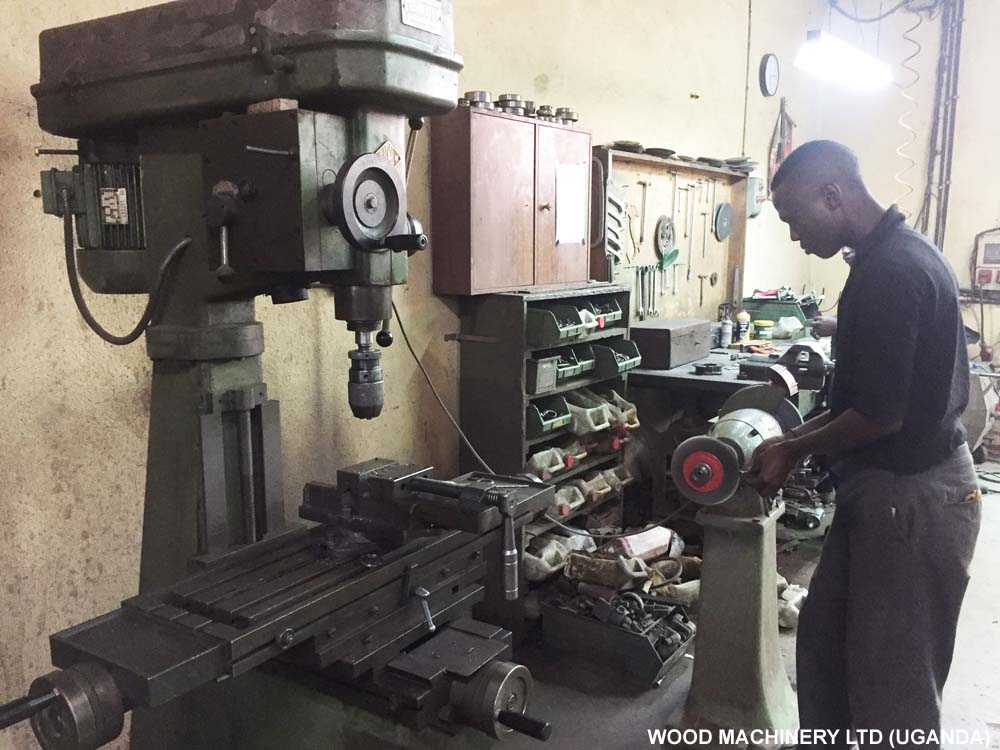 Wood Machinery Uganda Workshop, Machine Manufacture, Making, Repair & Wood Machines Sharpening Services in Kampala Uganda