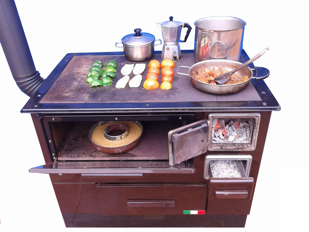 Kitchen Firewood Cook Stove U0026 Oven From Italy For Sale. Environmentally  Friendly And Smoke Free