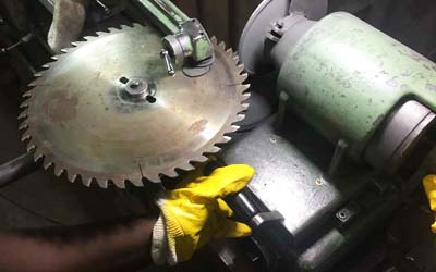 Metal & Wood Workshop, Sharpening services for all types of tools at Wood Machinery Ltd, Kampala Uganda